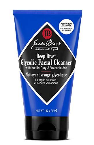 Jack Black Limpiador Exfoliante Facial Deep Dive Glycolic Fresh, 147ml.