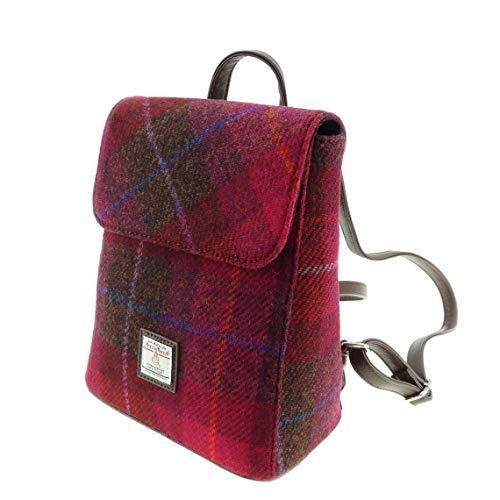 Glen Appin Harris Tweed Tummel Rucksack LB1213 (Farbe 52 Pink)