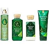 Bath & Body Works Vanilla Bean Noel set of Body Lotion, Body Cream, Fragrance Mist & Shower gel