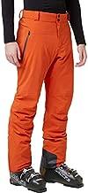 Helly-Hansen Mens Alpha Lifaloft Insulated Waterproof Ski Pant, 300 Patrol Orange, Small
