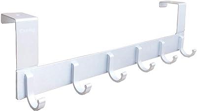 Amazon.com: Perchero perchero de pared, color blanco percha ...