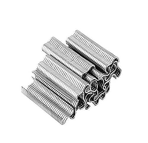 LASULEN Type M Nail Ring Pliers, with 600pcs M Clips, Wire Cage Pliers, Alicates para Reparación de Jaulas, Alicates a Presión para Reparación de Jaulas de Conejos y Jaulas de Pollo