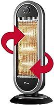 Estufa halógena oscilante, 3 ajustes de Temperatura, 400/800/1200W