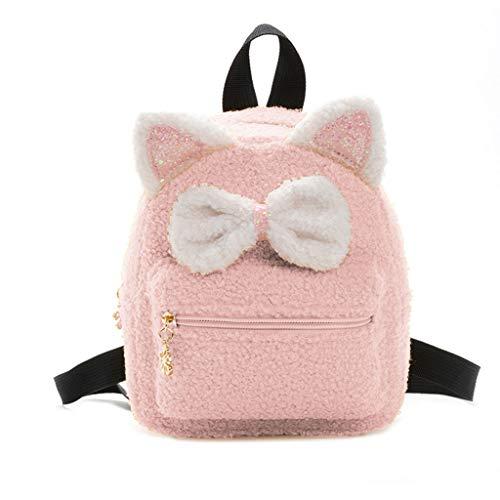 Zhenxinganghu meisjes kinderen rugzak schooltas rugzak boekentassen schattige bowknot Primary dagrugzak modieuze rugzak