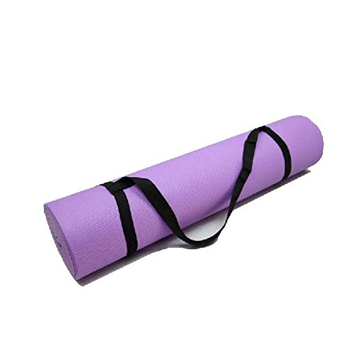 ASDCASC GDS Lunga 6/8mm Spessore Antiscivolo Yoga Tappetino Yoga Tappetino Yoga per Principianti Coperta da Yoga