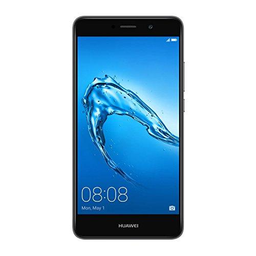 Huawei TRT-LX1 13,97 cm (5,5 Zoll) Smartphone Y7 (Dual SIM, LTE, Bluetooth, WiFi, Octa Core Prozessor, Android 7.0 Nougat) grau