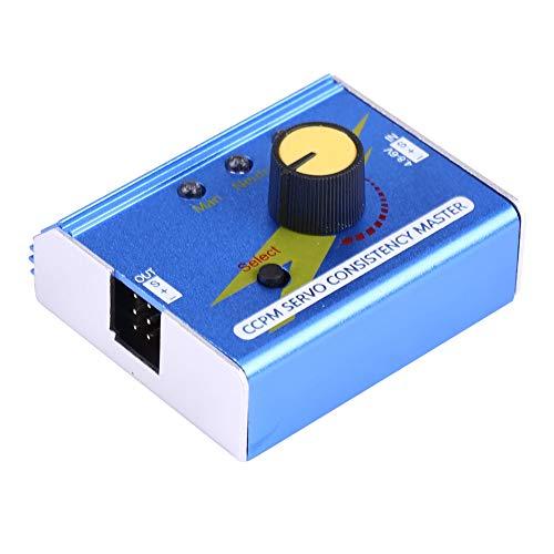 V GEBY Motor Tester ESC Checker, CCPM Servo Consistencia Master Motor Electronic Checker para RC Plane Car Boat