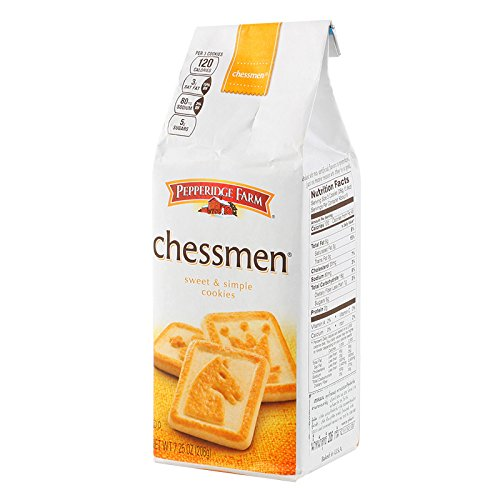 Pepperidge Farm, Chessman, Sweet & Simple Cookies, 206 g [Pack of 1 piece]
