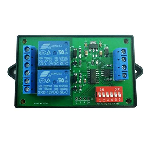 Módulo EléctricoDC12V Times Delay Relay Module Temporizador De Retardo Digital Interruptor De Control De Temporización Relé De Temporizador De AutomatizaciónRelé ElectrónicoPlaca De MóduloCompatible