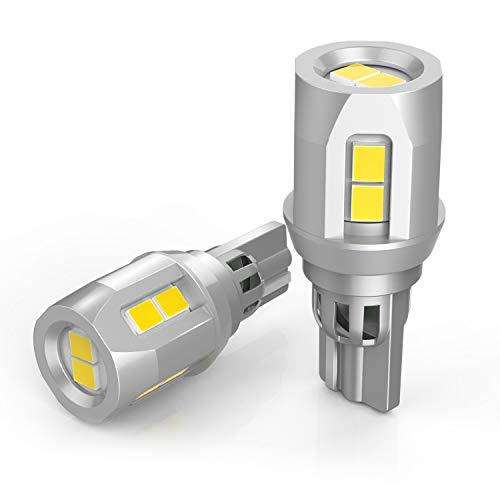 T15 LED Ampoules Voiture,1600LM W16W 921 912 LED DRL Feu de Recul, Dôme, Feux, Coffre,6000K 12V
