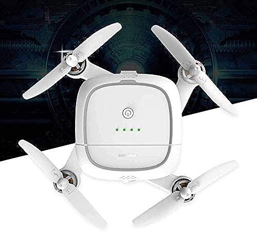 WANTOOSE Drohne mit Kamera, Live-Video und GPS Zurück nach Hause HD-WLAN-Kamera für Kinder, Anf er und Erwachsene - Follow-Me, H nlage und eine Taste zum Starten Landen,Weißs Model Kimon
