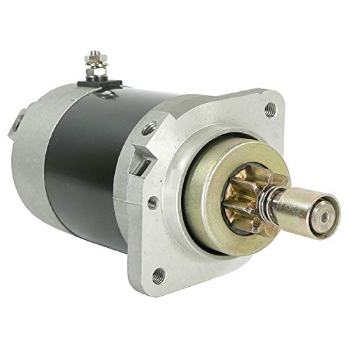 DB Electrical SHI0181 Starter Compatible With/Replacement For Suzuki Outboard Marine Df40 40 Hp S114-671A, Df40Q Df40T Df50Q 4-Stroke 1999-2000, Df50T Df60T Df70T 4-Stroke 1998-2000 MOT5020 4-6827