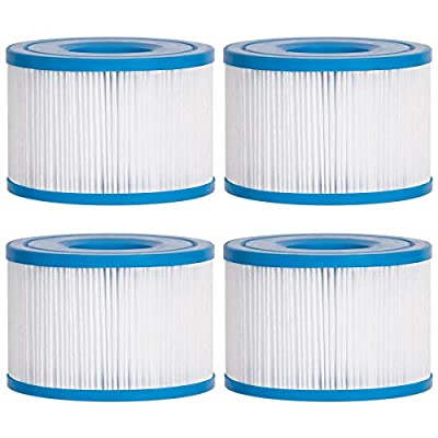 Future Way S1 Filters Spa Hot Tub Replacement, Purespa Inflatable Hot Tub Filters 11692, 4 Pack