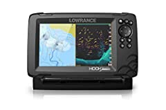 FISHREVEAL: Fish are easier to find and easier to identify. FishReveal combines the target separation of Lowrance CHIRP sonar and the high-resolution images of structure from DownScan Imaging to makes fish light up on your display. GPS PLOTTER: Navig...
