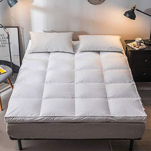 zyl Almohadilla de colchón de Cama Alternativa de plumón de Calidad colchón de Espuma viscoelástica de futón de Alto Grado Cubierta de colchón de Tatami Doble Superior Superior-e Queen2