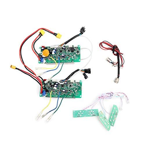 PBOHUZ Equilibrio del Controlador de la Placa Base: Placa de Circuito Principal, Placa Base, Kit de reparación de la Placa de Circuito Bluetooth para Scooter de Equilibrio Inteligente