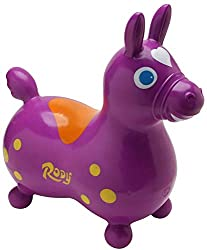 best gifts for 3-year-old girls Rody bouncing horse in purple