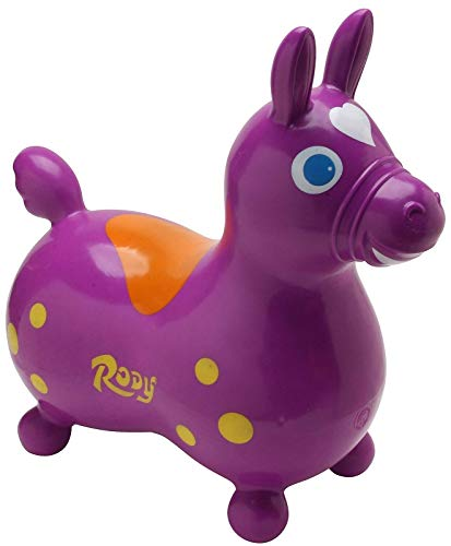 GYMNIC 7007 Rody Horse Ride on, Purple by Gymnic