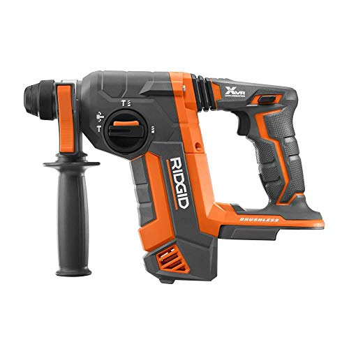 Rigid R86711B OCTANE 18-Volt Cordless Brushless 1 inch SDS-Plus Rotary Hammer (Tool Only)