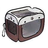 Scatola l'asciugatura dei capelli con animali domestici Gabbia pieghevole cuccioli Asciugatrice a mani libere Doggy Grooming Capelli Clearing Borse da viaggio gatti Cani Coniglio