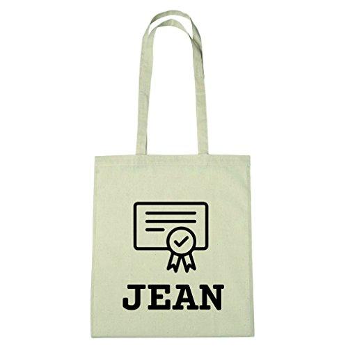 JOllify Baumwolltasche Abschluss Geschenk für JEAN - Zeugnis