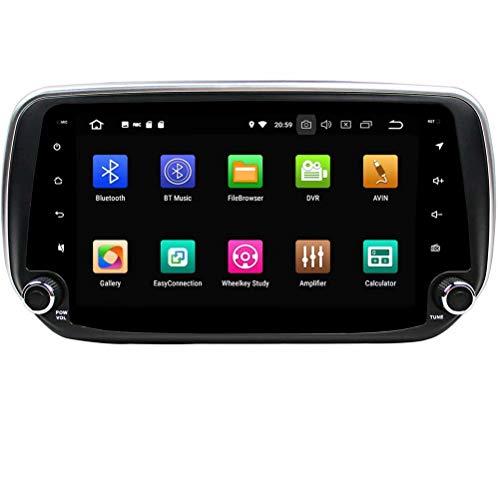 ROADYAKO 2Din Anroid 8.1 Multimédia Automatique pour autoradio stéréo Hyundai IX45 / Santa Fe 2018 avec Liaison GPS Mirror RDS FM R Bluetooth AM Bluetooth