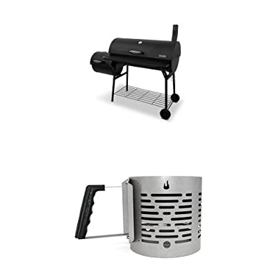 Char-Broil Offset Smoker American Gourmet Deluxe Charcoal Grill