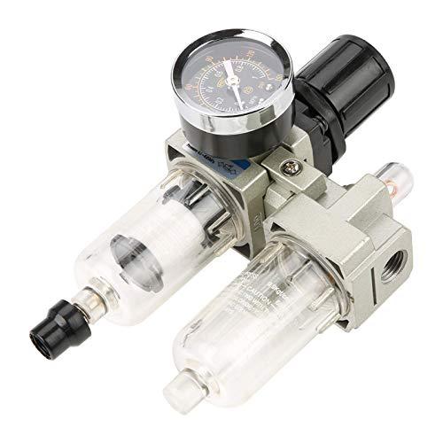 Regulador de compresor de aire, regulador de filtro de aire, unidad de tratamiento de gas de fuente de aire de 25um, herramientas de aire para sistema neumático