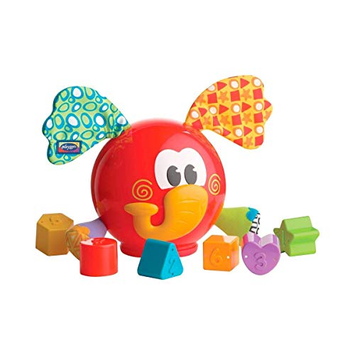 Lowest Price! Playgro Red Elephant Shape Sorter Learning Toy