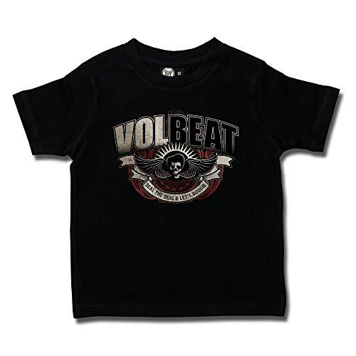 Volbeat (SkullWing Boogie) - Kids T-Shirt Größe 140