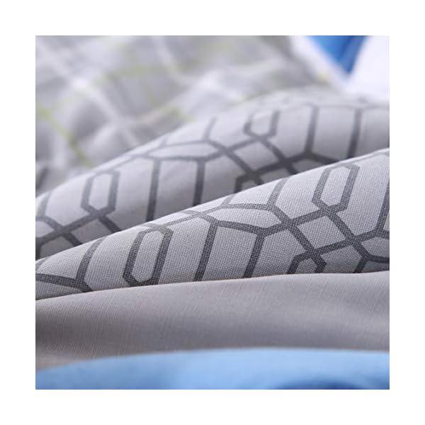 Wowelife Crib Bedding Sets for Boys 3 Piece Sports Nursery Bedding