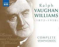 ヴォーン・ウィリアムズ交響曲全集 ケース・バケルス ポール・ダニエル ボーンマス交響楽団(6CD)