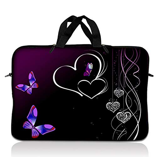 LSS 14.1 inch Laptop Sleeve Bag Carrying Case Pouch with Handle for 14' 14.1' Apple MacBook, GW, Acer, Asus, Dell, Hp, Sony, Toshiba