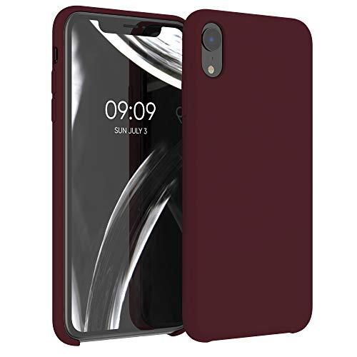 kwmobile Cover Compatibile con Apple iPhone XR - Cover Custodia in Silicone TPU - Back Case Protezione Cellulare Rosso Fulvo