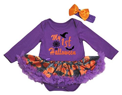 Petitebelle - Robe - Manches longues - Bébé (fille) 0 à 24 mois Multicolore Multicolore - Violet - S