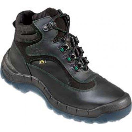 OTTER 93689 Sicherheitsstiefel ESD Sicherheitsschuhe Arbeitsschuhe Hoch Stiefel, Größe:38