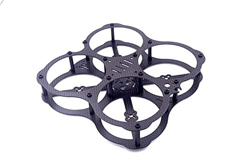 DingPeng DIY FPV QAV-HK UFO 130 Frame in Fibra di Carbonio Puro Drone Quadcopter Mini Corse for 3045 3030 3/4 Blade Areleller FPV Racing Drone Quadcopter Accessori Ricambi