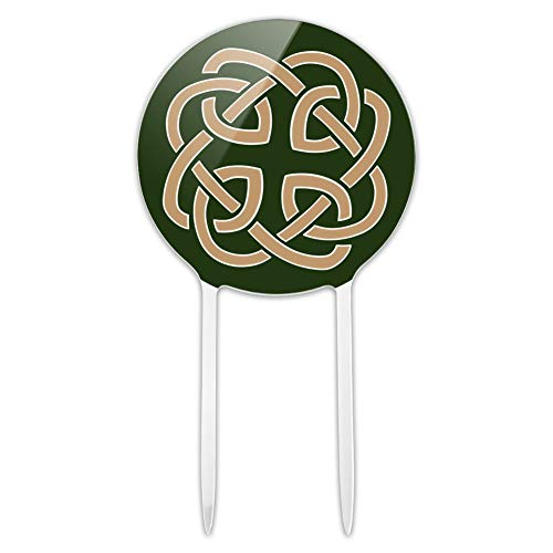 GRAPHICS & MORE Acrylic Celtic Knot Love Eternity Cake Topper Party Decoration for Wedding Anniversary Birthday Graduation
