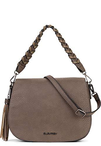 SURI FREY Handtasche Piggy Damen Handtaschen Uni schlamm 950 One Size