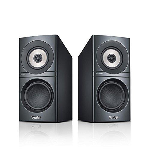 Teufel Definion 3S Anthrazit Stereo Lautsprecher Musik Sound Hochtöner Mitteltöner Bass Speaker High End HiFi Tieftöner Schalldruck Soundanlage