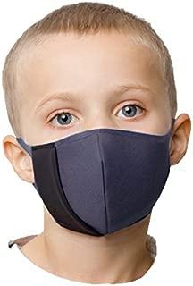[イタリア製BANALE] 超快適 PM2.5対応 花粉症、細菌、アレルゲン対策 携帯用トラベルマスク (カジュアル 子供)