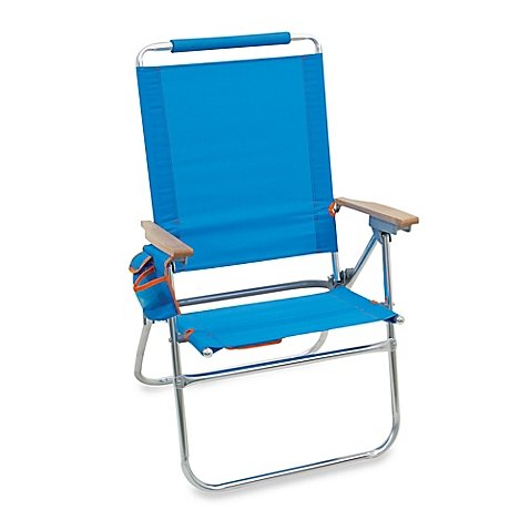 Highboy No Rust, Lightweight Aluminum Frame with Cool,quick-dry, Heavyweight Polyester, Reclines to 7 Positions, Durable, Outdoor, Beach Chair