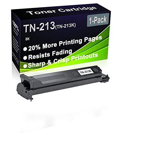 Cartucho de tóner negro compatible BizHub C200 C203 para impresora láser (alta capacidad), repuesto para Konica Minolta TN-213 TN-213K (A0D7152)