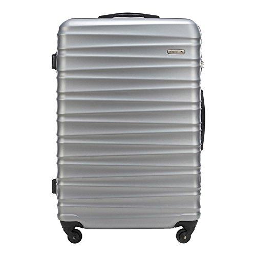 WITTCHEN Gran maletín de Color: Gris Material ABS Tamaño: 77 x 52 x...