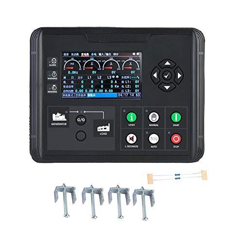 Generator Control Module, DC70D 4,3 Zoll LCD Display Generator Set Controller für Diesel Generator, Verschiedene Arten von Motor durch Selbsteinstellung