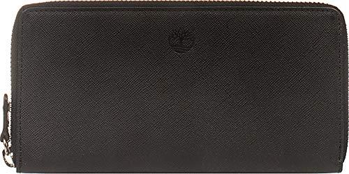 Portafoglio donna con zip Timberland MM155 (Nero)