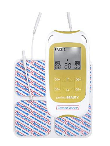Perfect BEAUTY, electroestimulador EMS especializado en belleza. Tonificación muscular, reducción de arrugas, flacidez y piel de naranja.