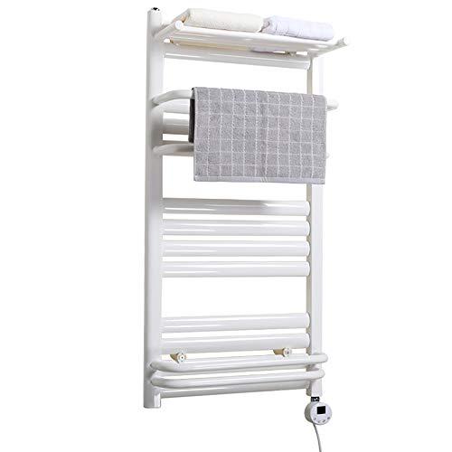 QWSL radiador toallero electrico pequeño,toallero electrico de pie baño Toalla de Secado...