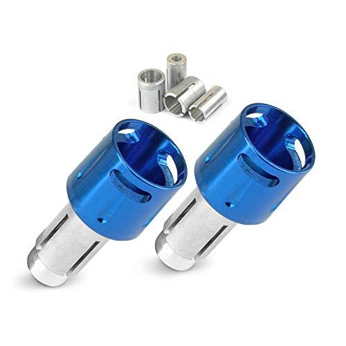 Lenkerkappe TNT Hut blau eloxiert (1 Paar)