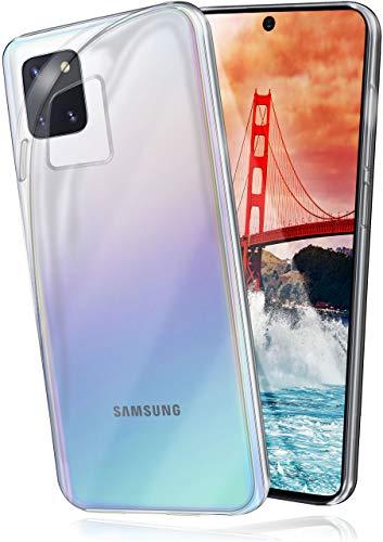 moex Aero Hülle kompatibel mit Samsung Galaxy Note10 Lite - Hülle aus Silikon, komplett transparent, Klarsicht Handy Schutzhülle Ultra dünn, Handyhülle durchsichtig einfarbig, Klar